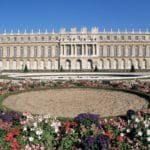 Parterre du Midi and the Chateau of Versailles, UNESCO World Heritage Site, Ile de France, France, Europe
